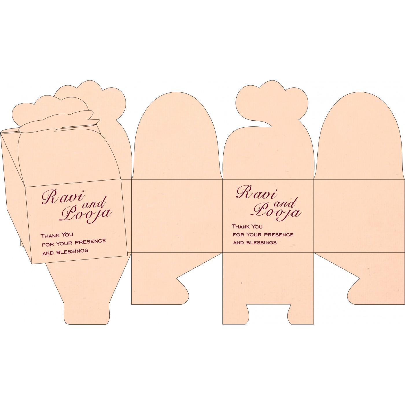 Cake Sweet Boxes : SB-8219D - 123WeddingCards