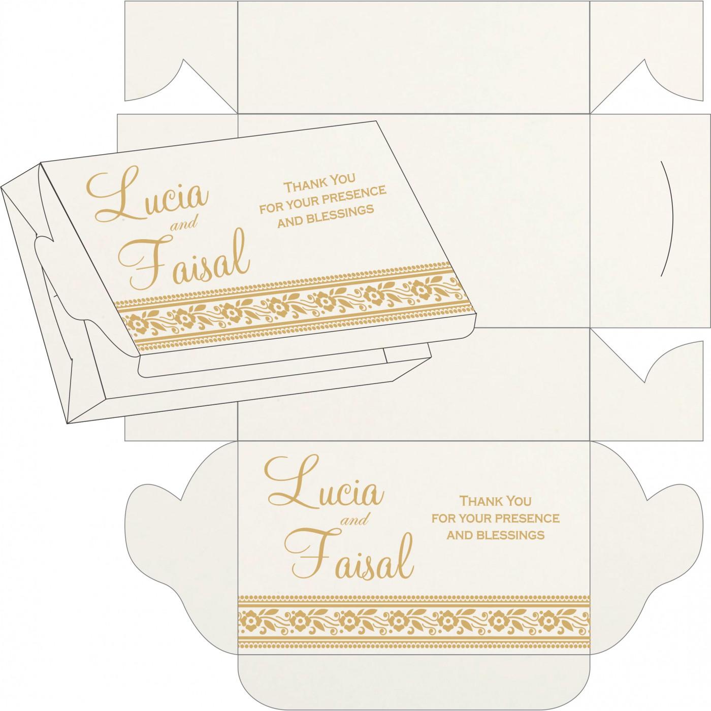 Cake Sweet Boxes : SB-8220I - 123WeddingCards