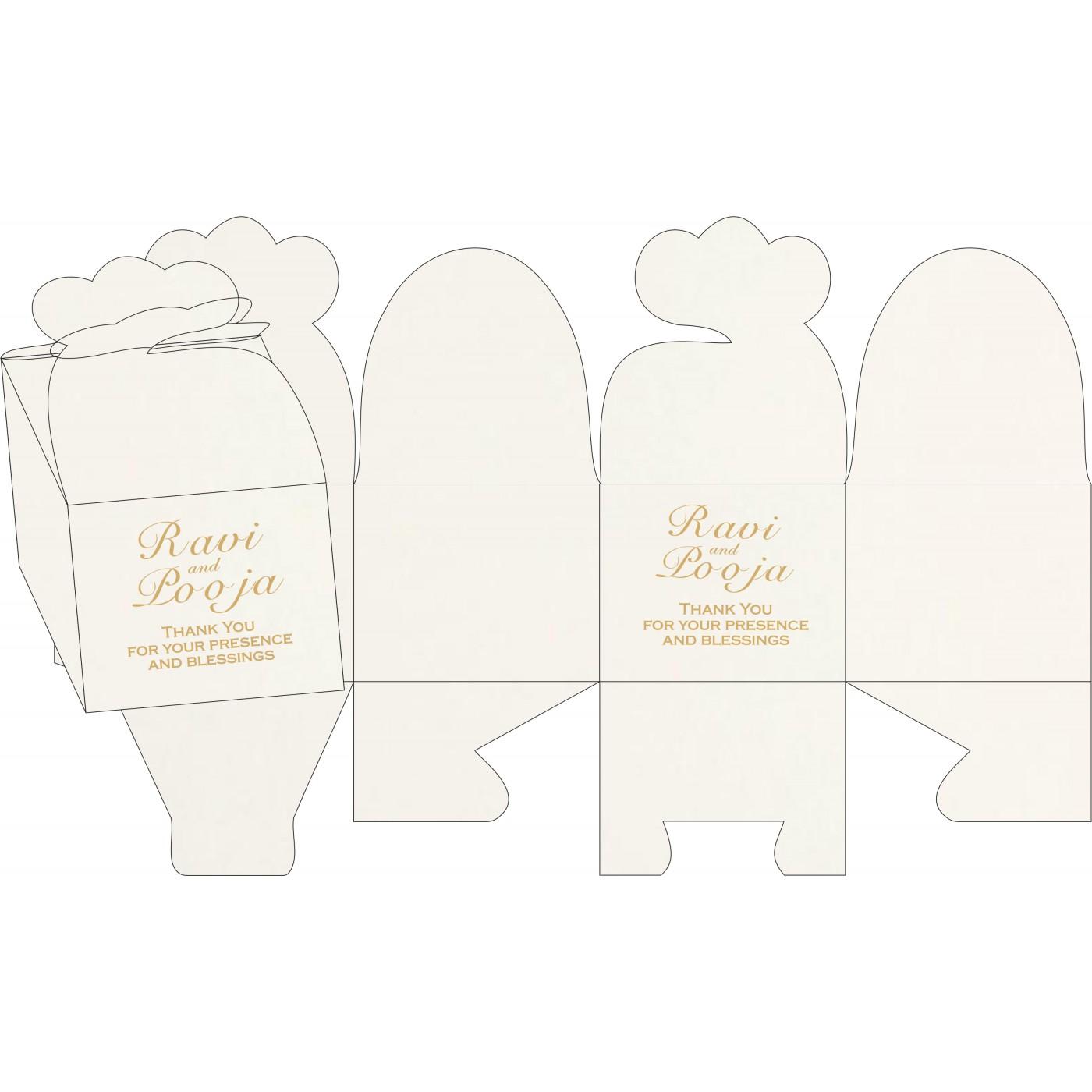 Cake Sweet Boxes : SB-8221K - 123WeddingCards