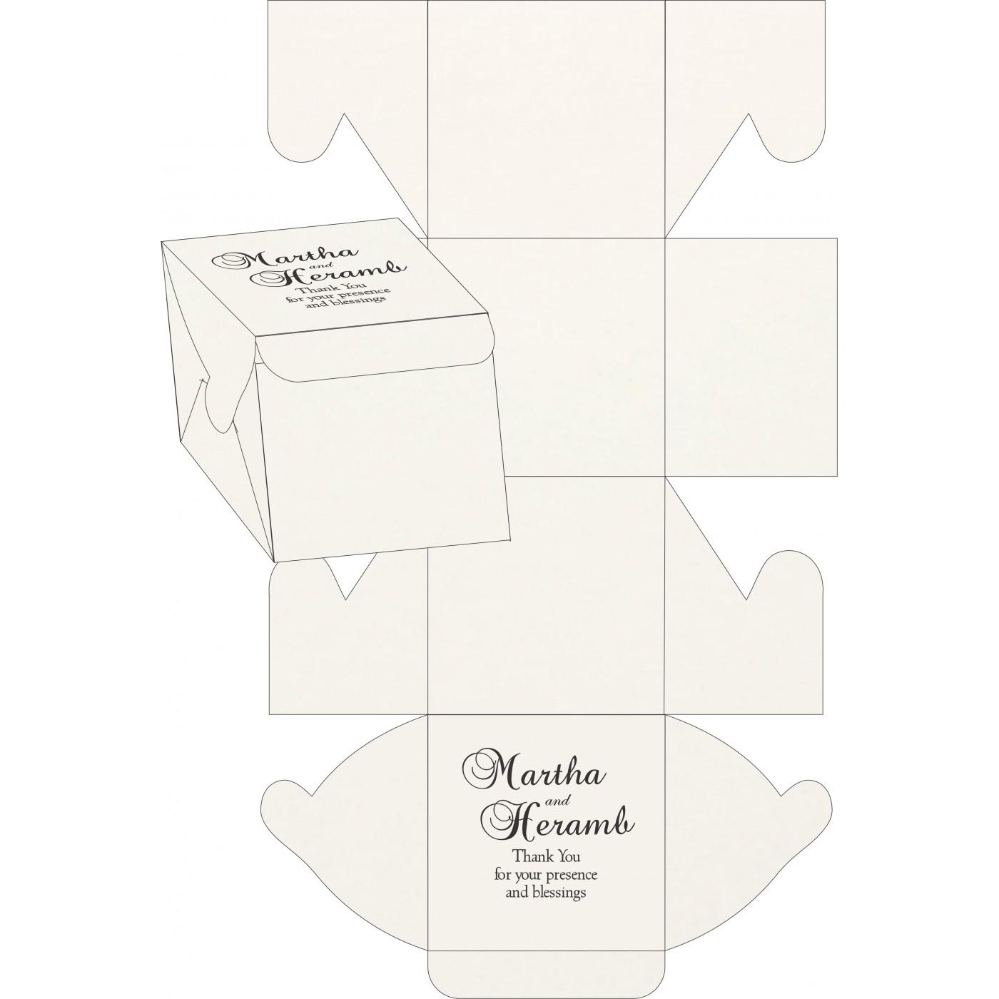 Cake Sweet Boxes : SB-8221N - 123WeddingCards