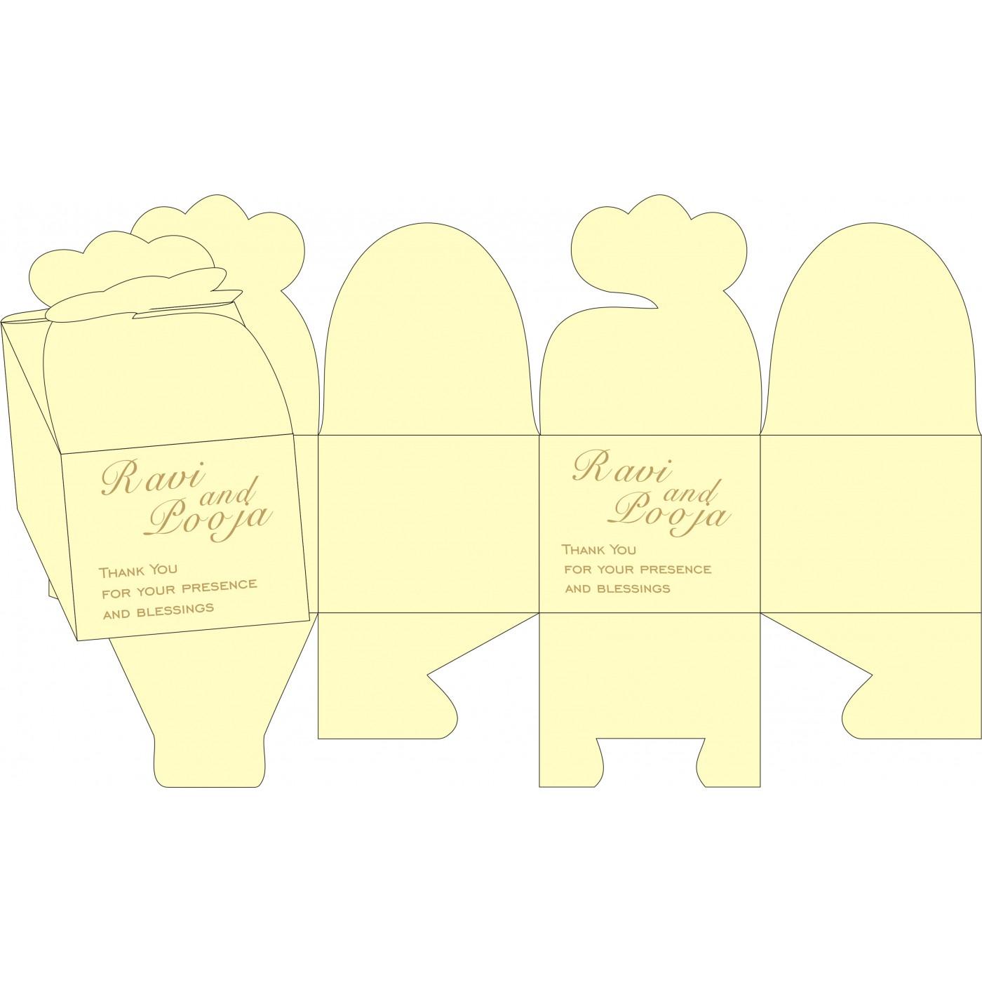 Cake Sweet Boxes : SB-8222F - 123WeddingCards