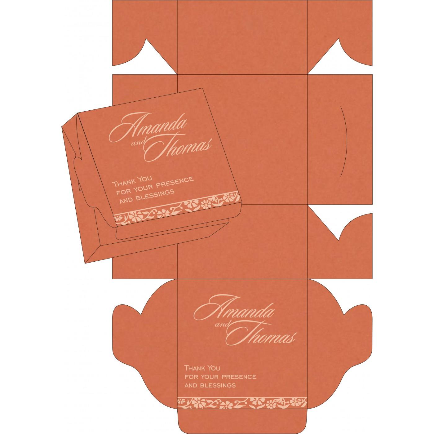 Cake Sweet Boxes : SB-8222P - 123WeddingCards