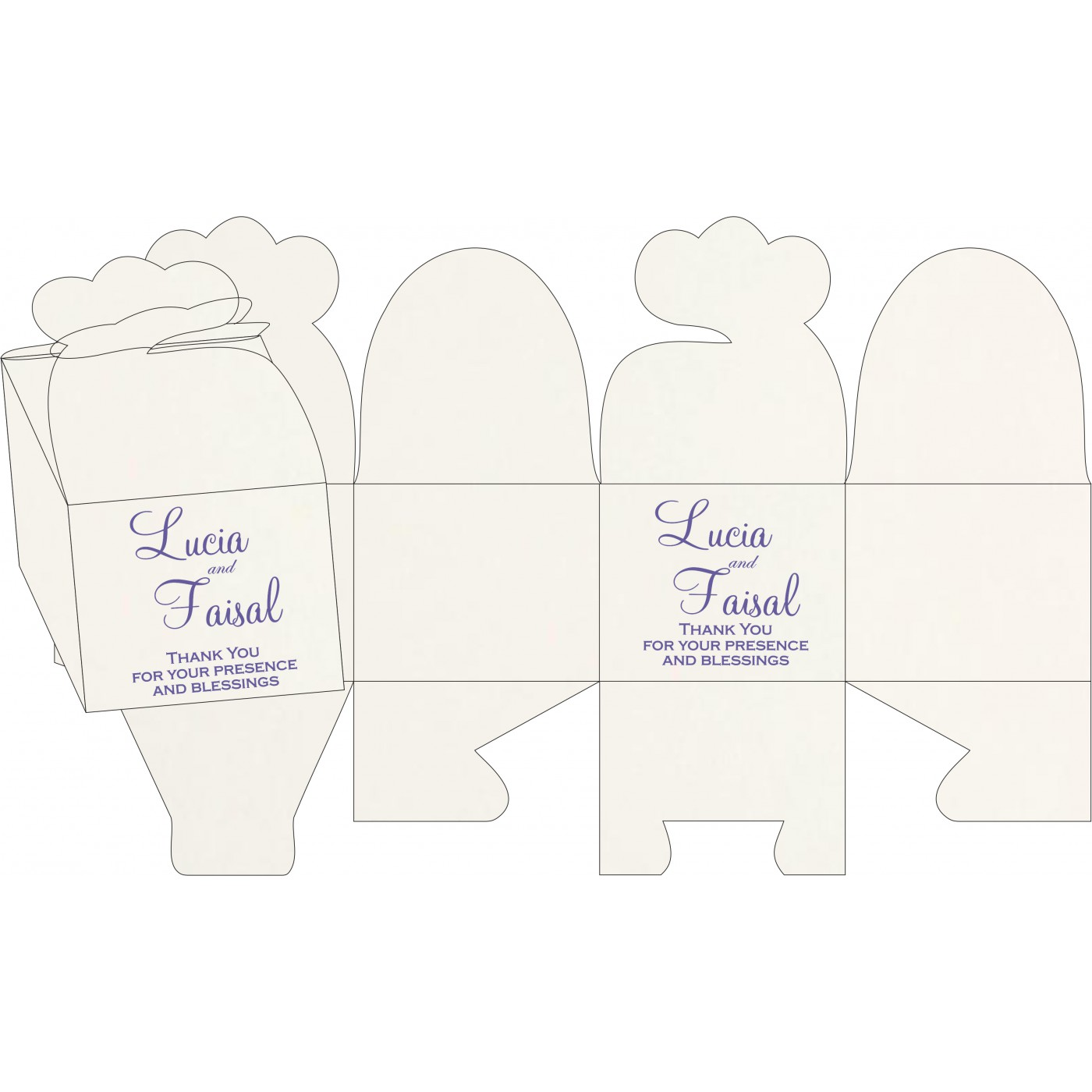 Cake Sweet Boxes : SB-8225H - 123WeddingCards
