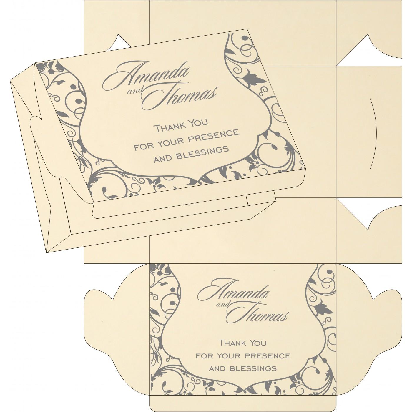 Cake Sweet Boxes : SB-8229B - 123WeddingCards