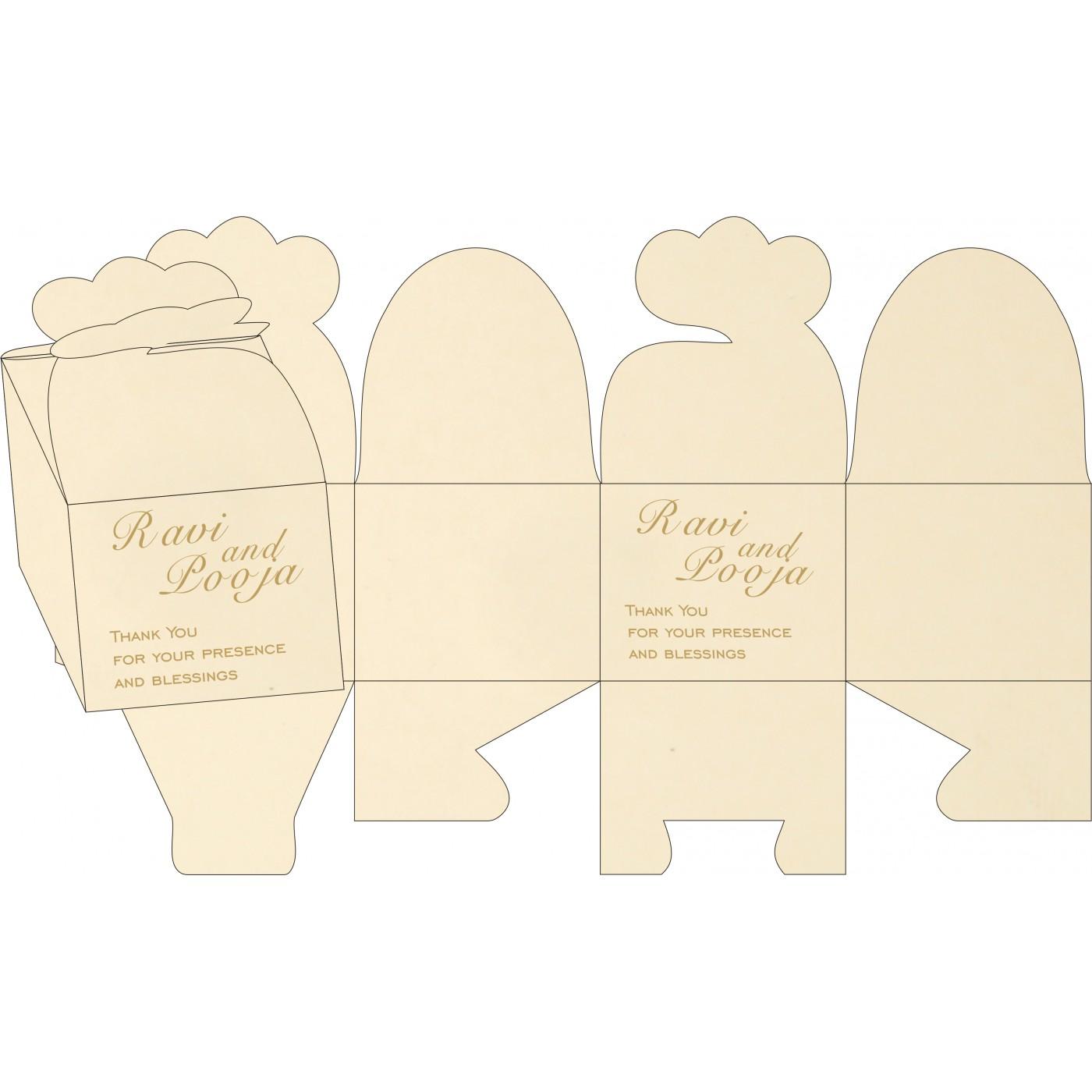 Cake Sweet Boxes : SB-8229E - 123WeddingCards
