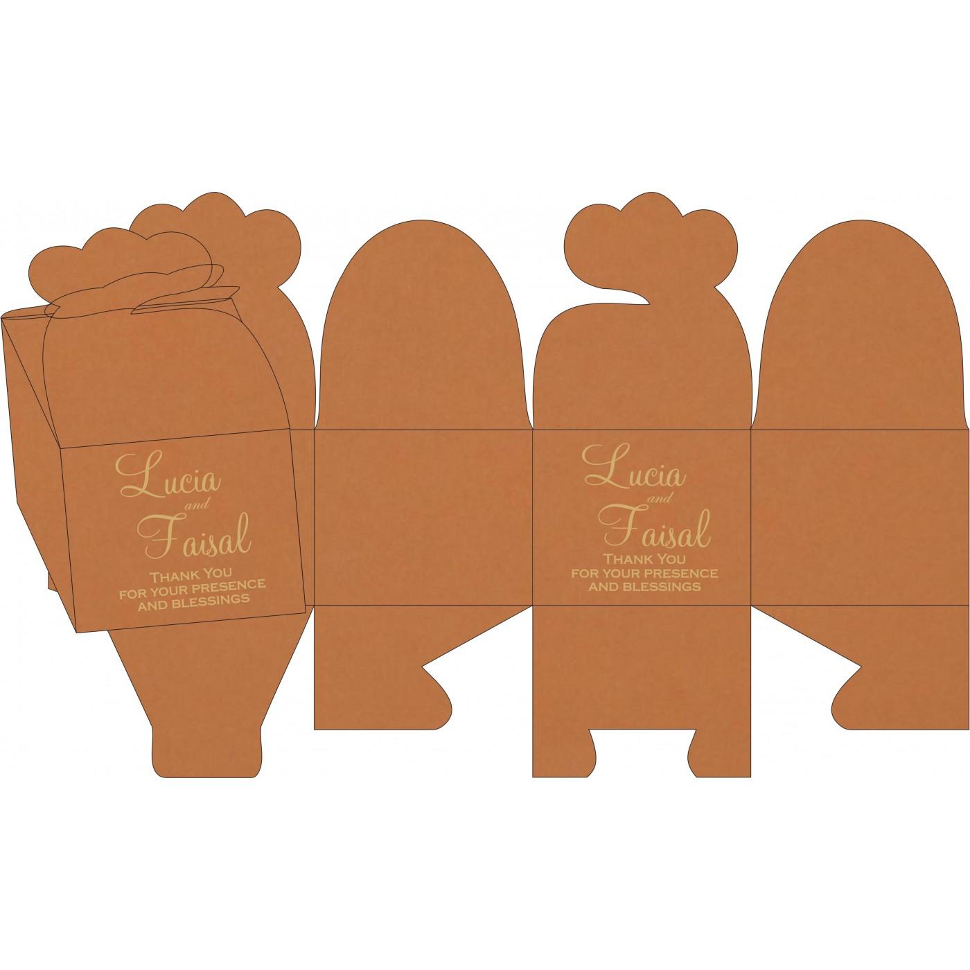 Cake Sweet Boxes : SB-8231H - 123WeddingCards
