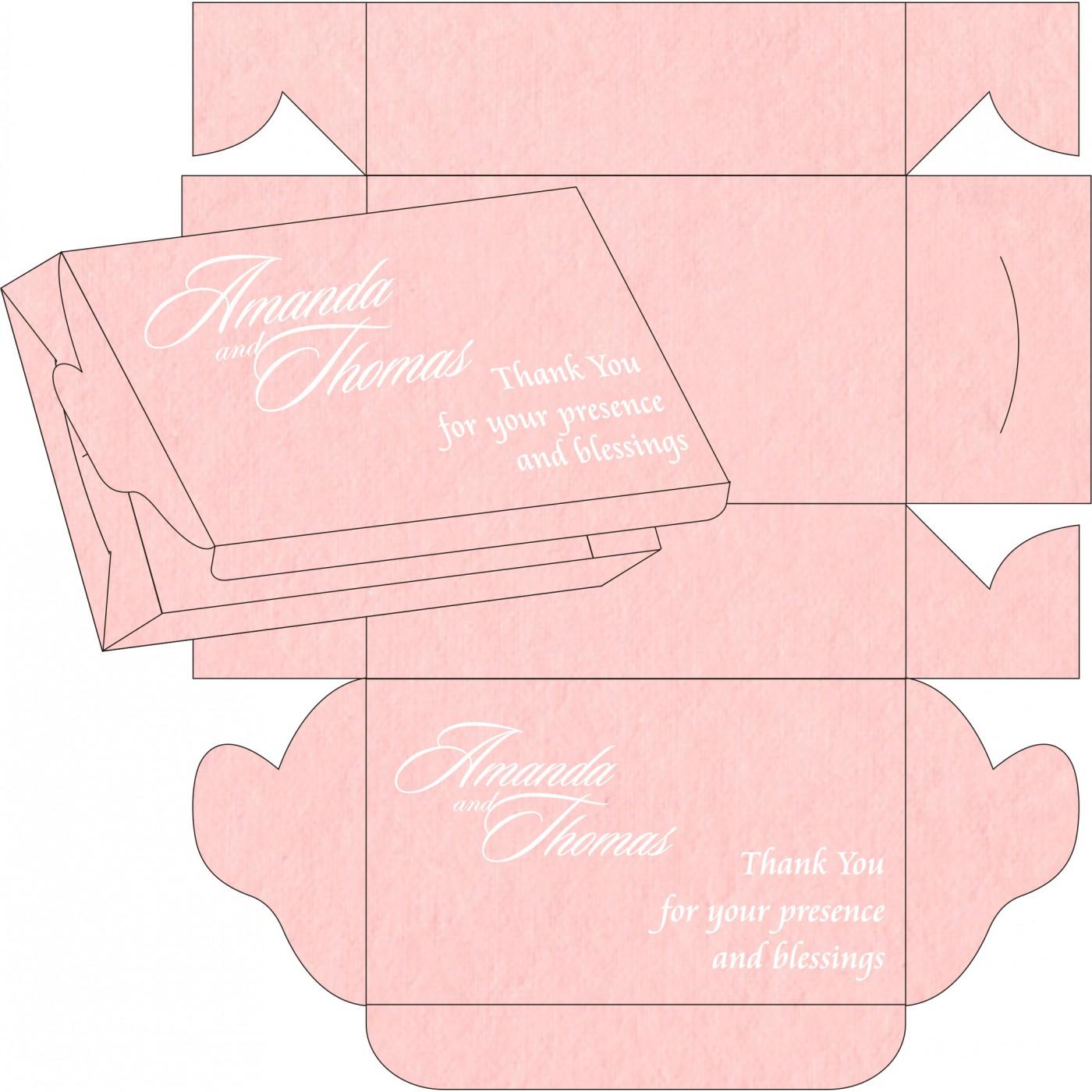 Cake Sweet Boxes : SB-8234G - 123WeddingCards