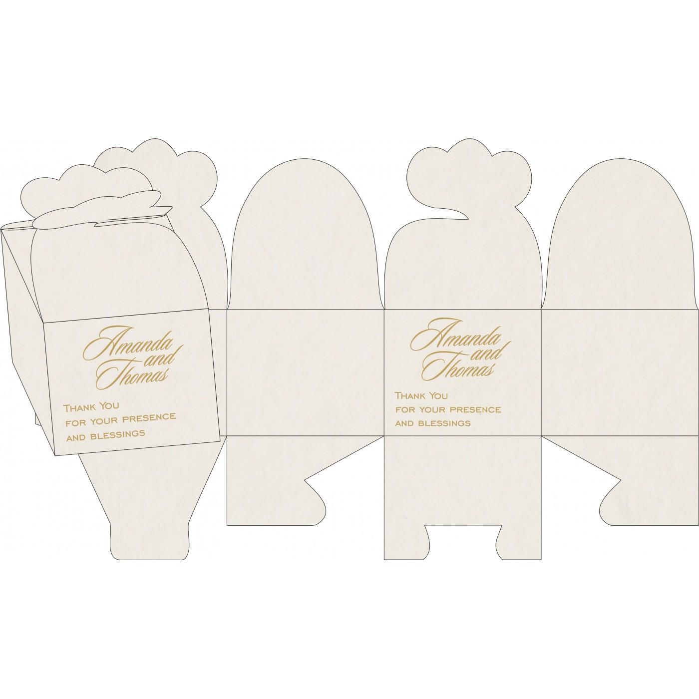 Cake Sweet Boxes : SB-8236B - 123WeddingCards