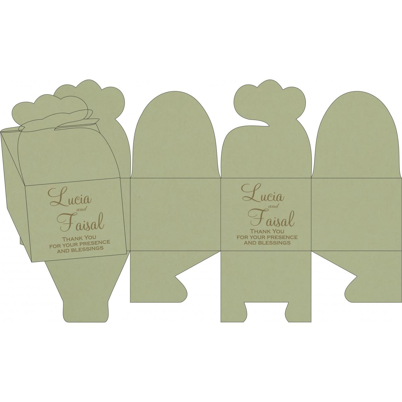 Cake Sweet Boxes : SB-8238K - 123WeddingCards
