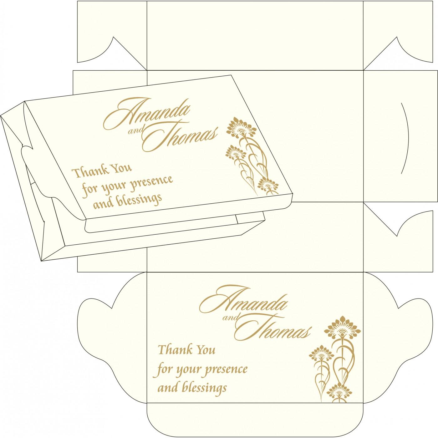 Cake Sweet Boxes : SB-8239K - 123WeddingCards