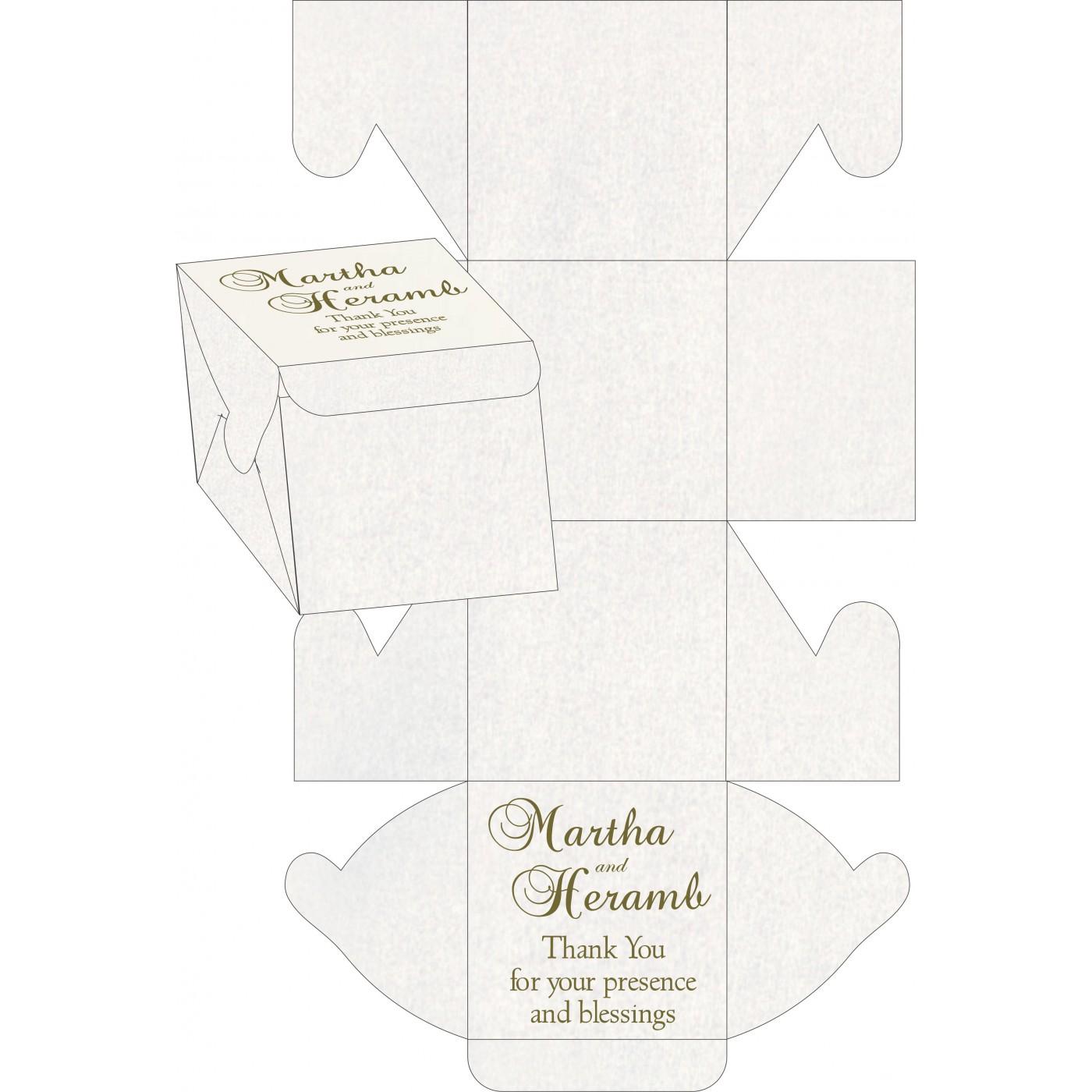 Cake Sweet Boxes : SB-8241L - 123WeddingCards