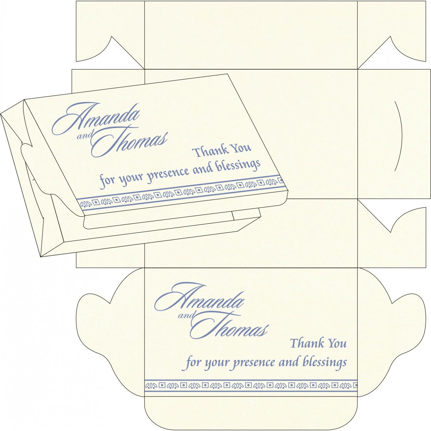 Cake Sweet Boxes : SB-8242J - 123WeddingCards