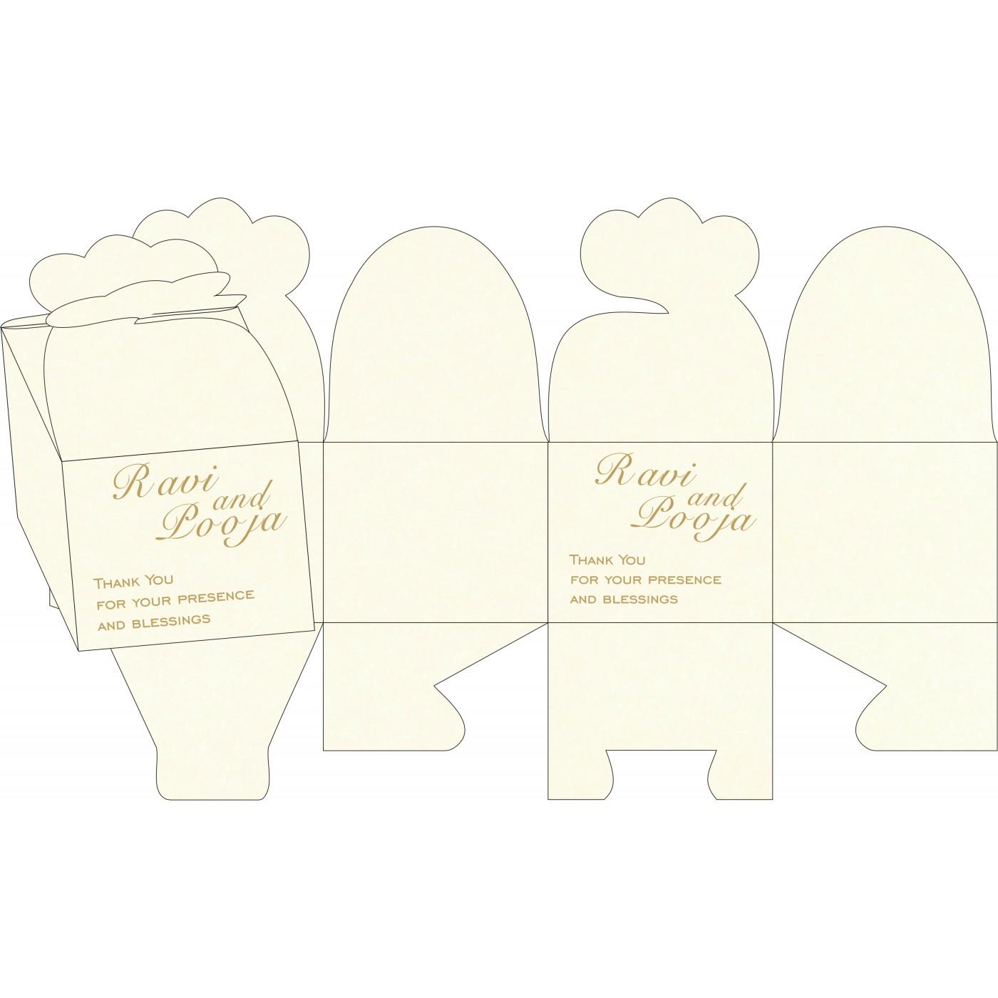 Cake Sweet Boxes : SB-8248D - 123WeddingCards