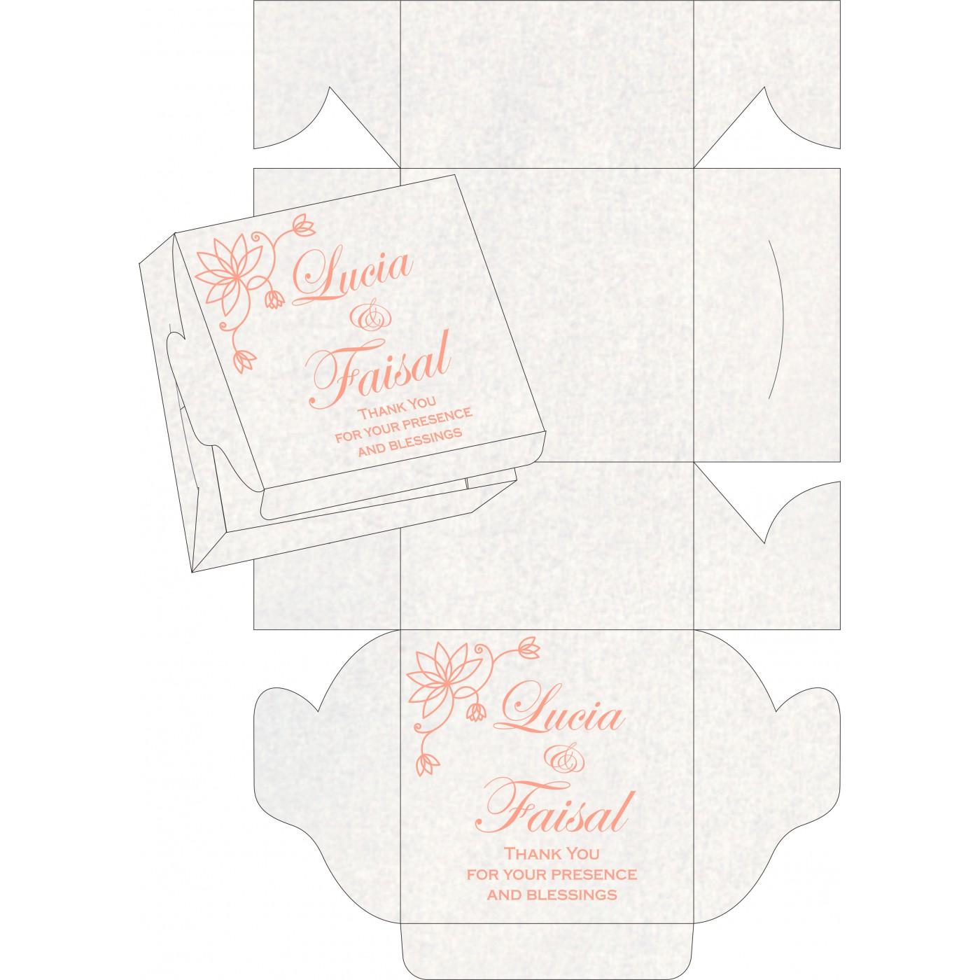 Cake Sweet Boxes : SB-8251I - 123WeddingCards