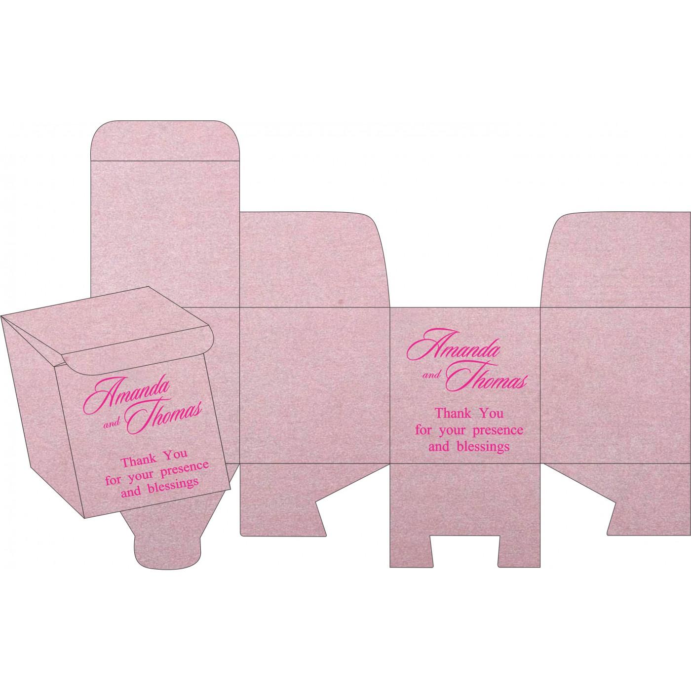 Cake Sweet Boxes : SB-8255F - 123WeddingCards