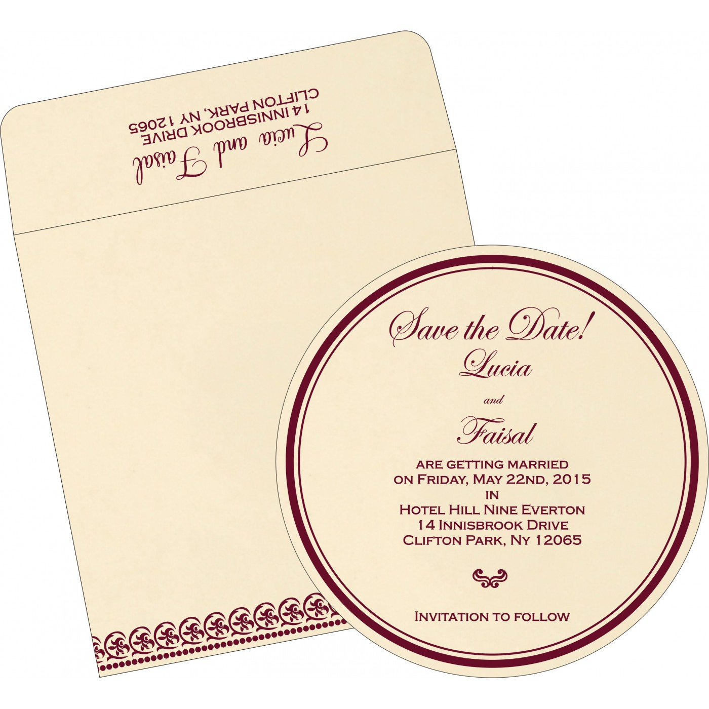 Save The Date Cards : STD-1101 - 123WeddingCards