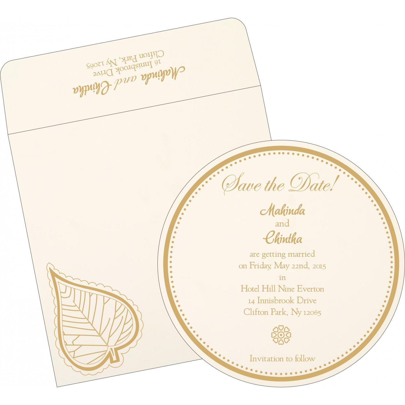 Save The Date Cards : STD-1153 - 123WeddingCards