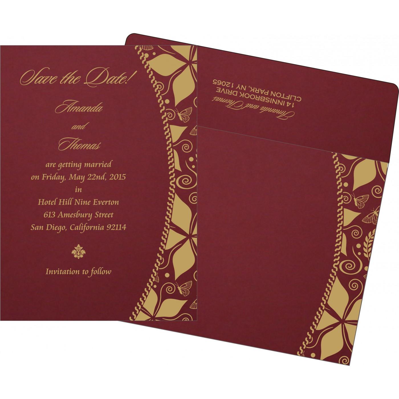 Save The Date Cards : STD-1169 - 123WeddingCards