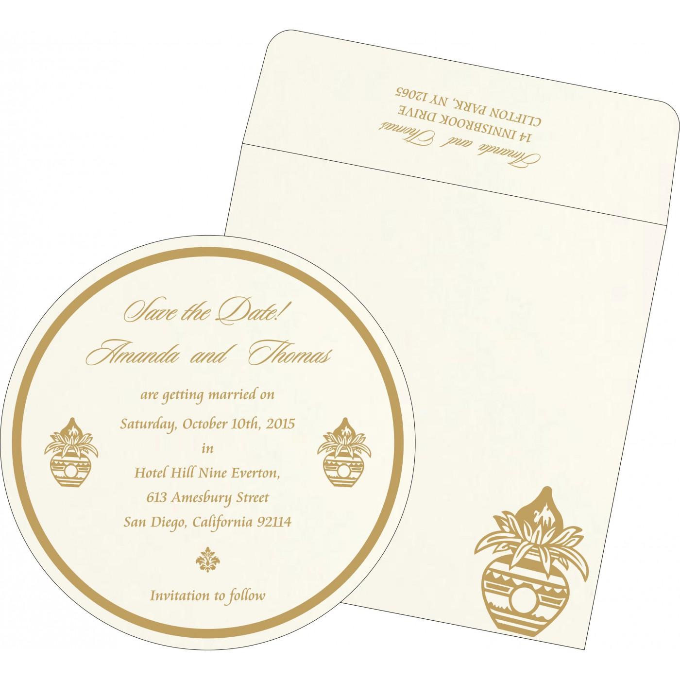 Save The Date Cards : STD-1188 - 123WeddingCards