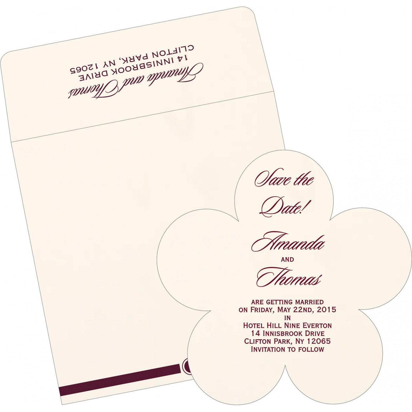 Save The Date Cards : STD-1204 - 123WeddingCards