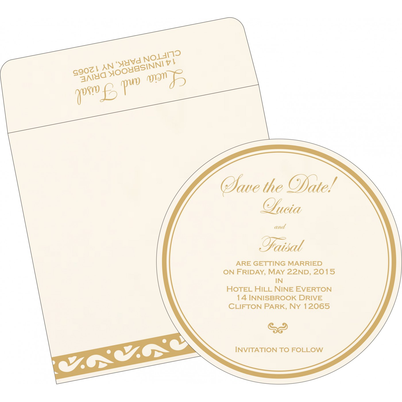 Save The Date Cards : STD-1225 - 123WeddingCards