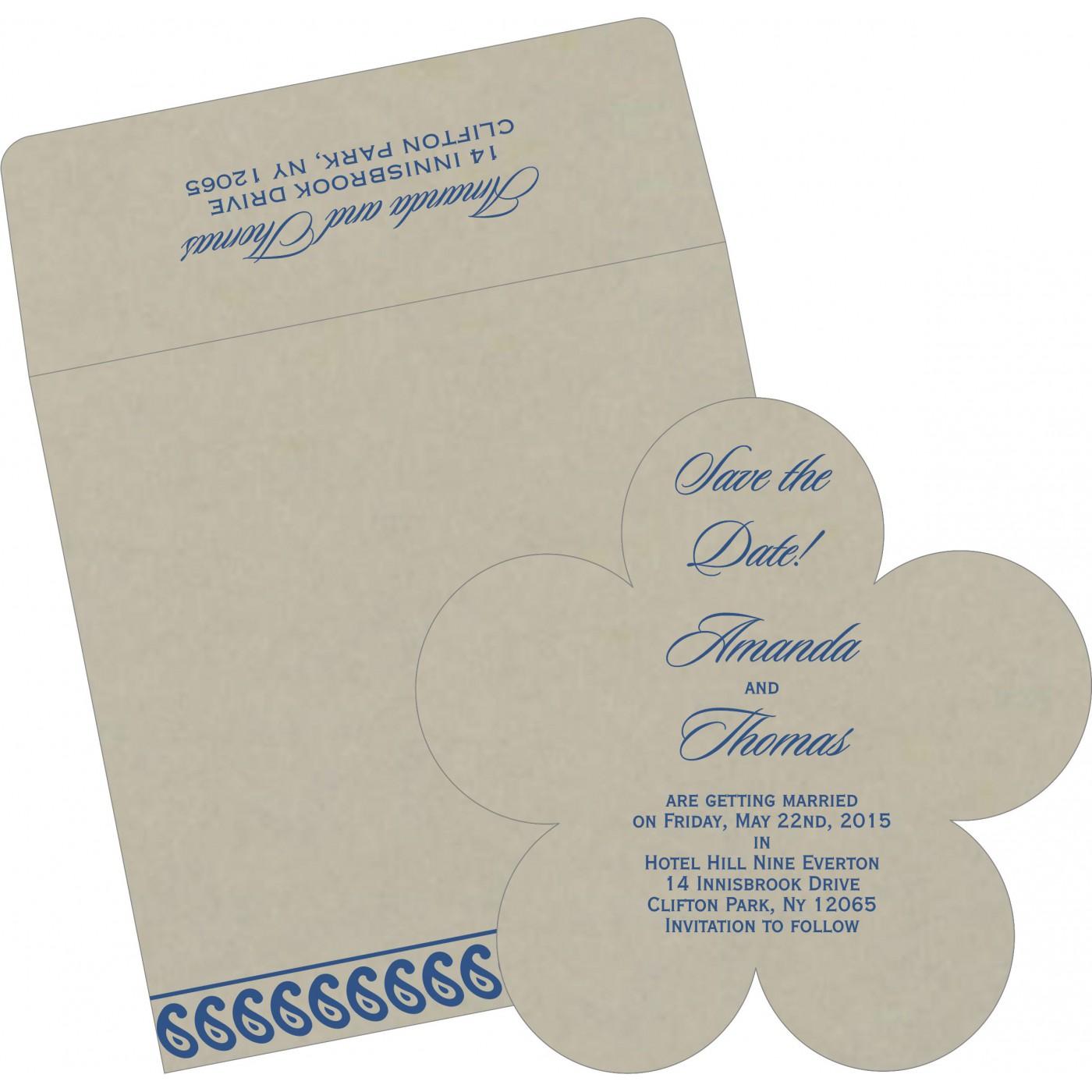 Save The Date Cards : STD-1261 - 123WeddingCards