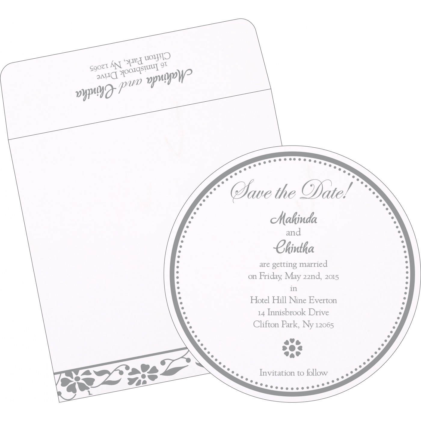 Save The Date Cards : STD-1291 - 123WeddingCards