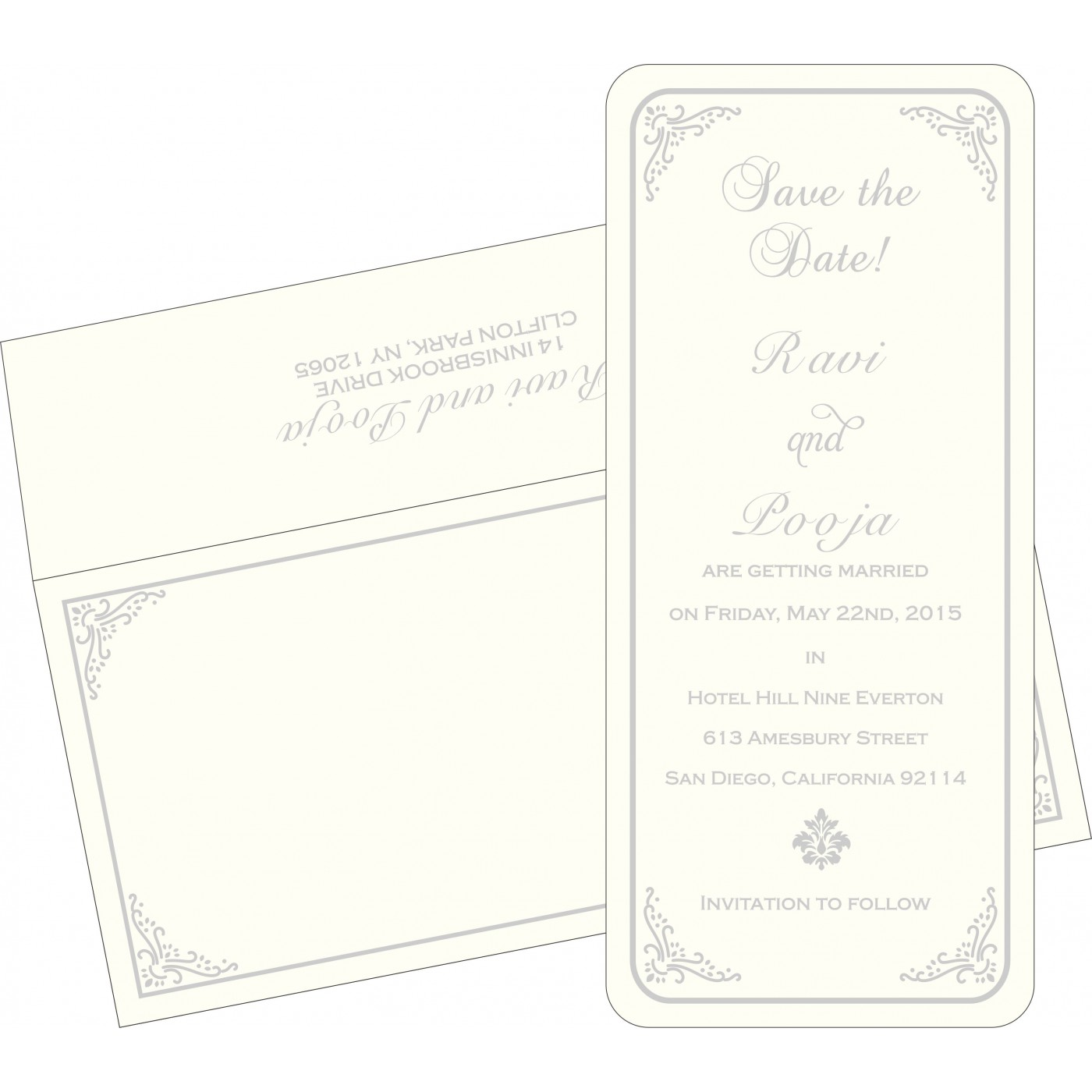 Save The Date Cards : STD-1325 - 123WeddingCards