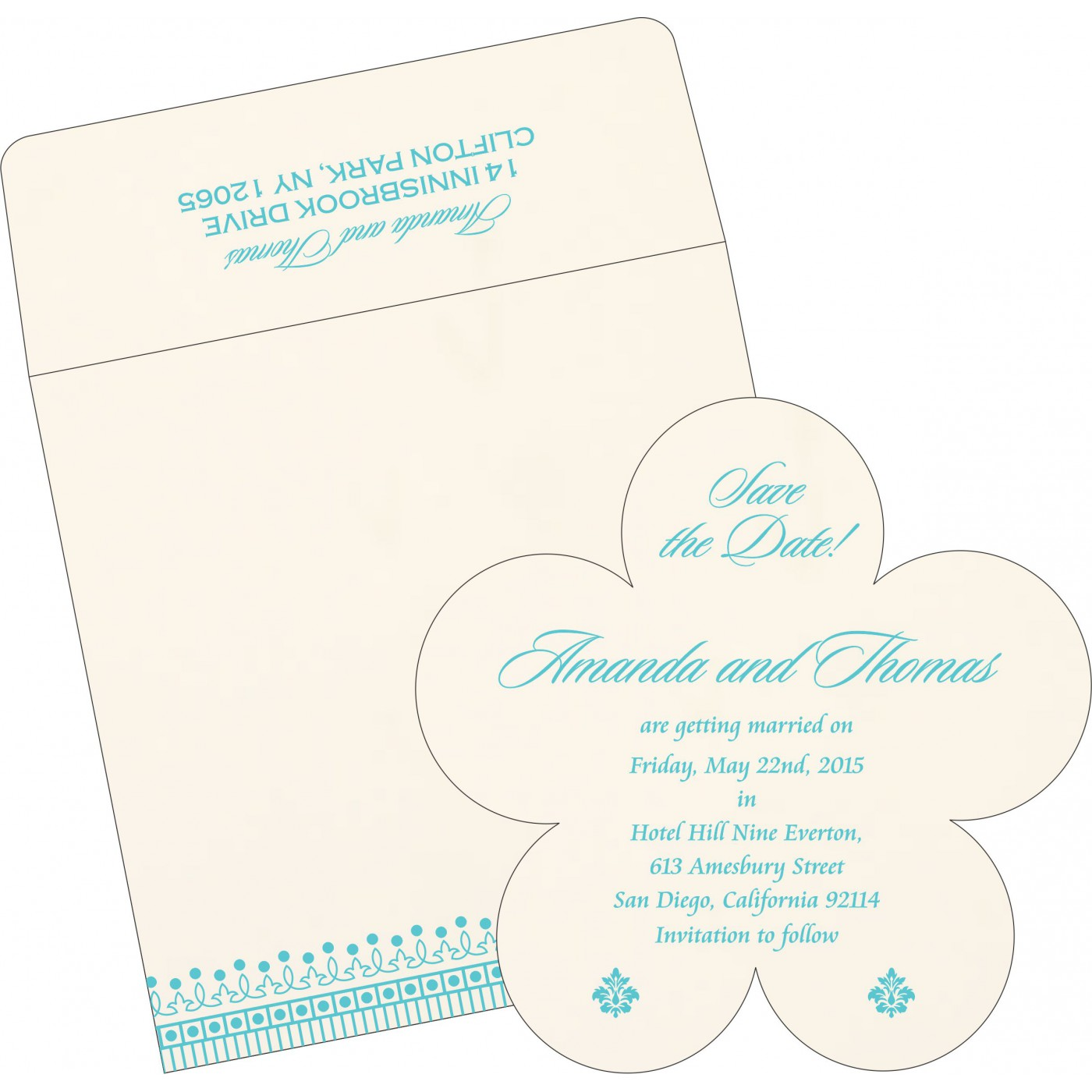 Save The Date Cards : STD-1338 - 123WeddingCards