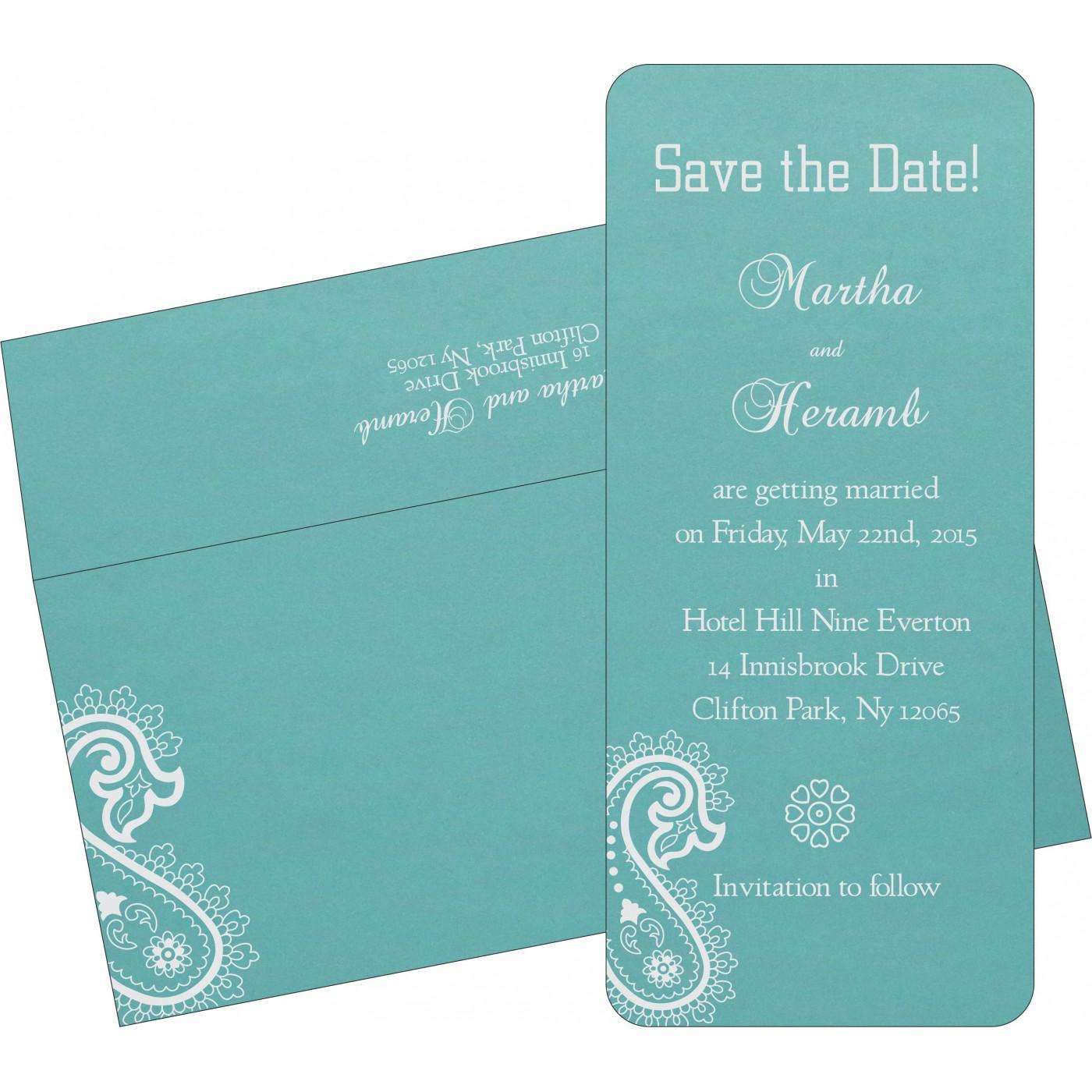 Save The Date Cards : STD-1382 - 123WeddingCards