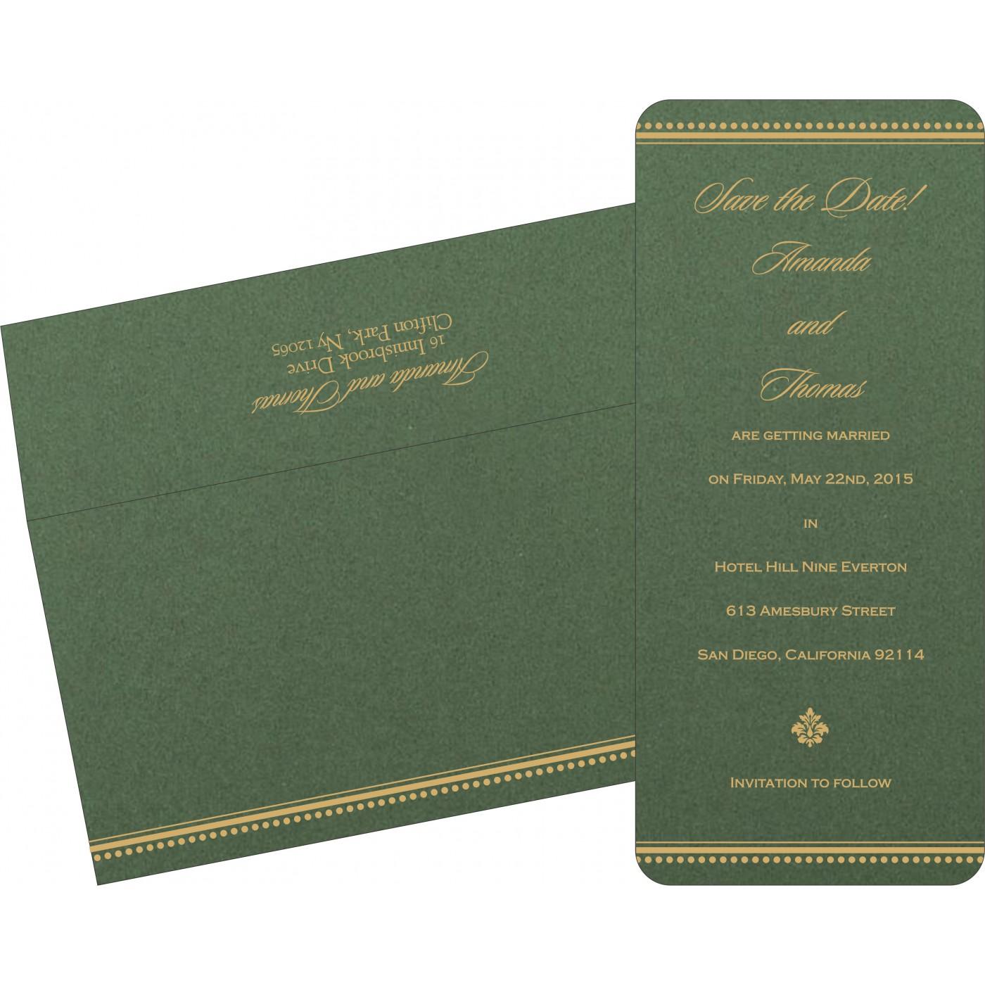Save The Date Cards : STD-1388 - 123WeddingCards