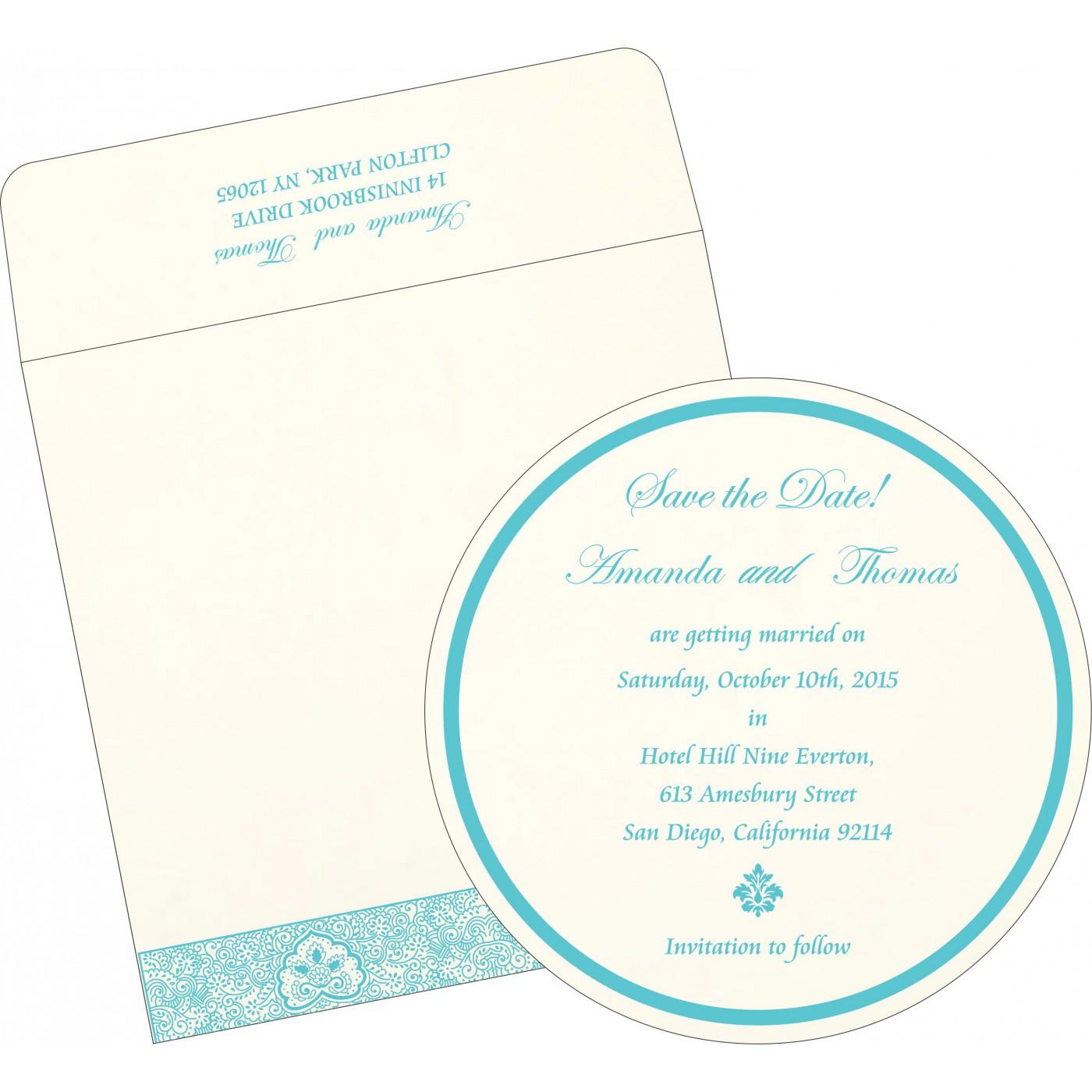 Save The Date Cards : STD-1410 - 123WeddingCards