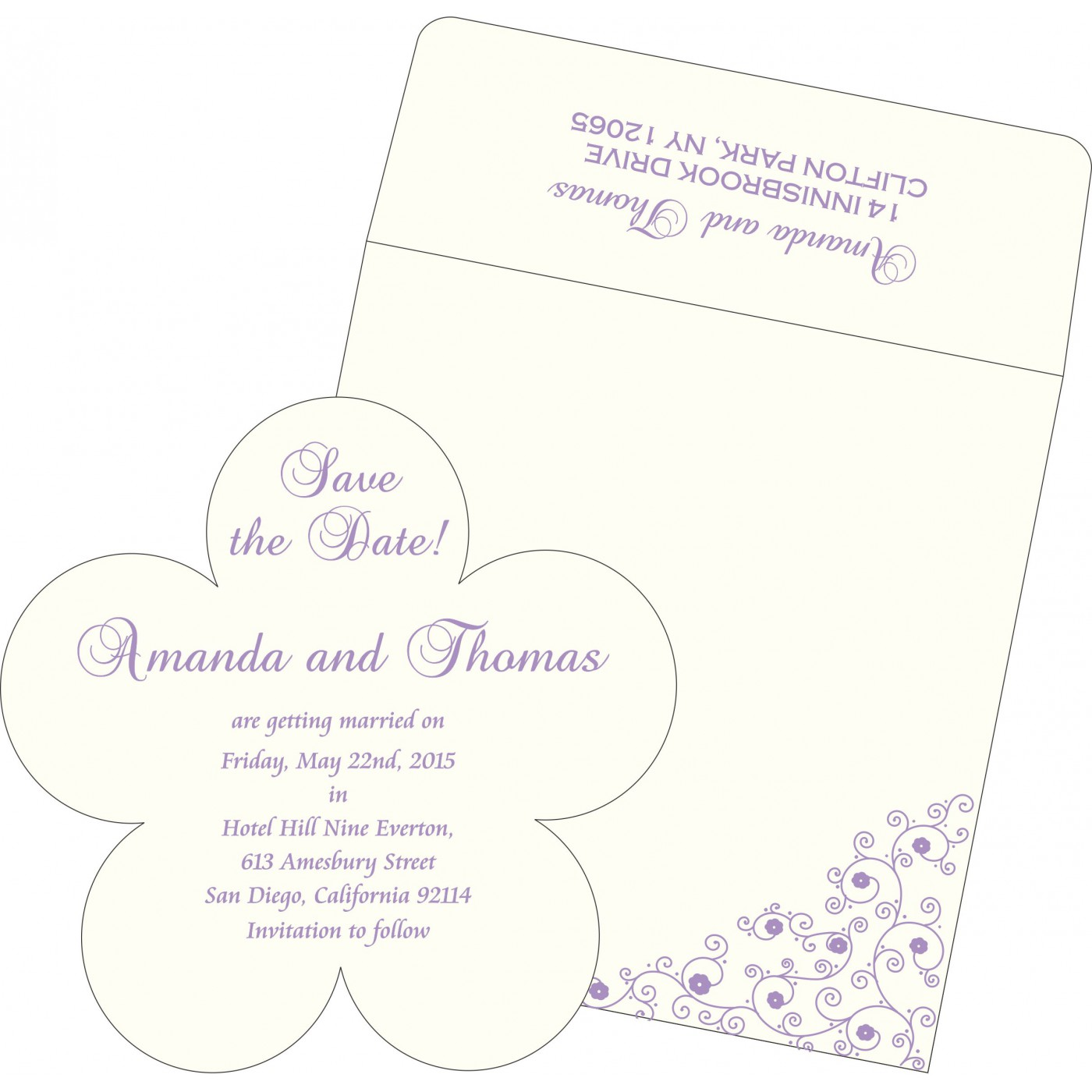 Save The Date Cards : STD-1431 - 123WeddingCards