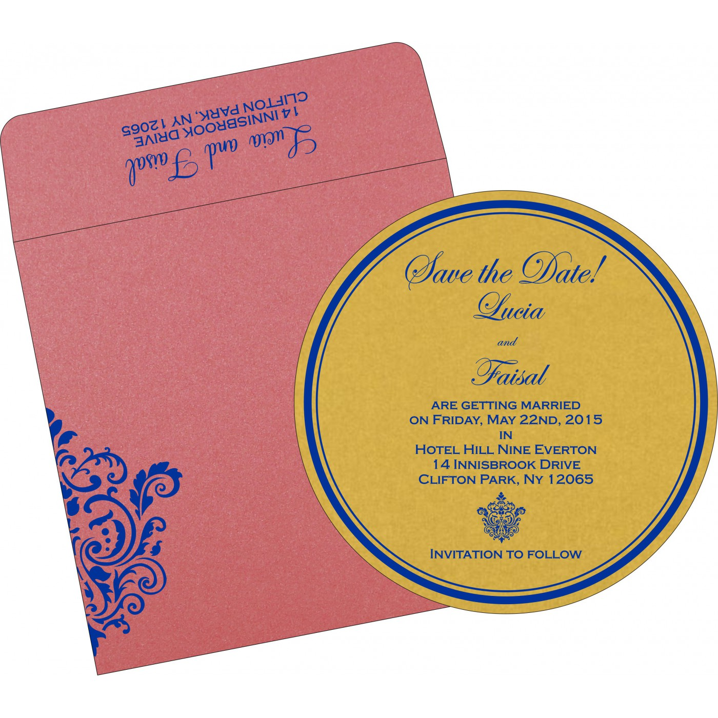 Save The Date Cards : STD-1503 - 123WeddingCards