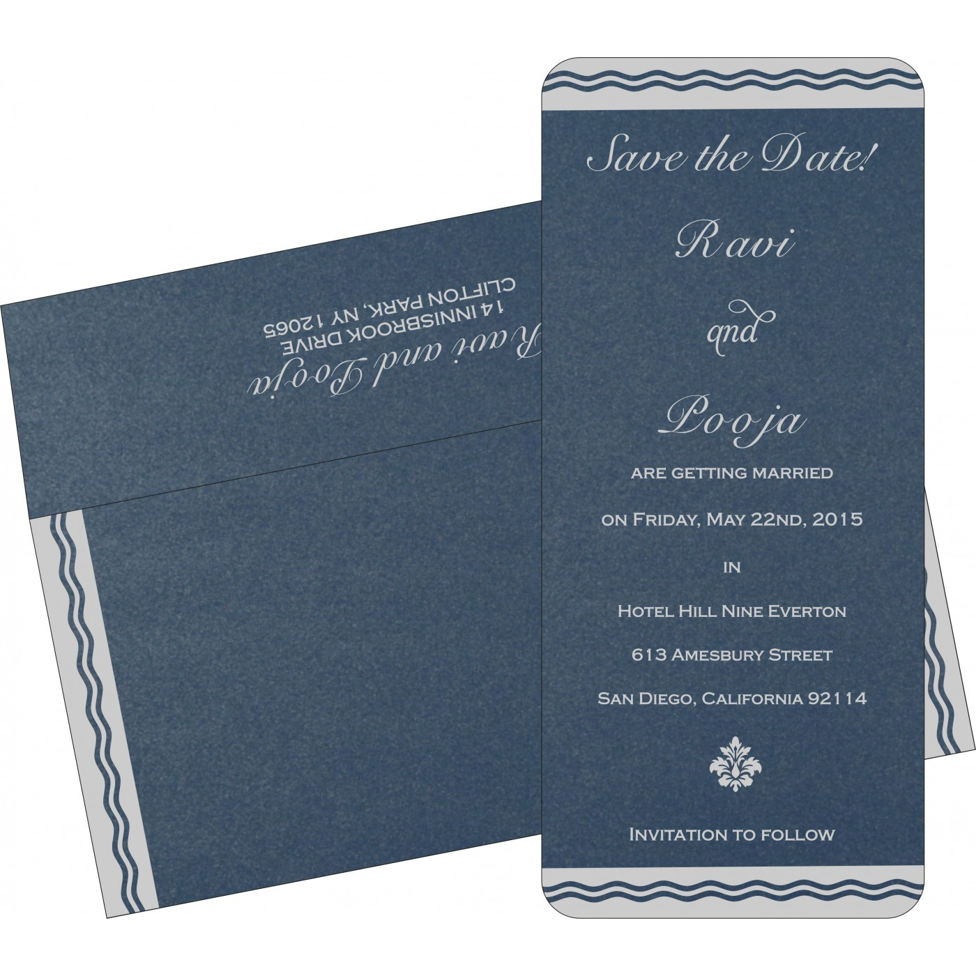 Save The Date Cards : STD-2179 - 123WeddingCards