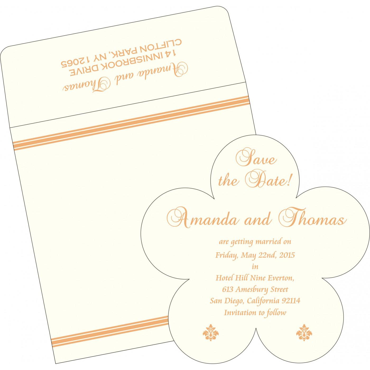 Save The Date Cards : STD-2203 - 123WeddingCards