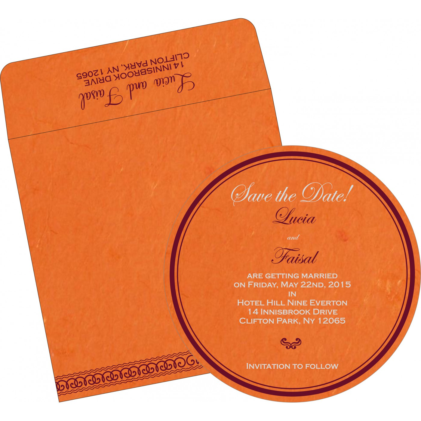 Save The Date Cards : STD-5002A - 123WeddingCards