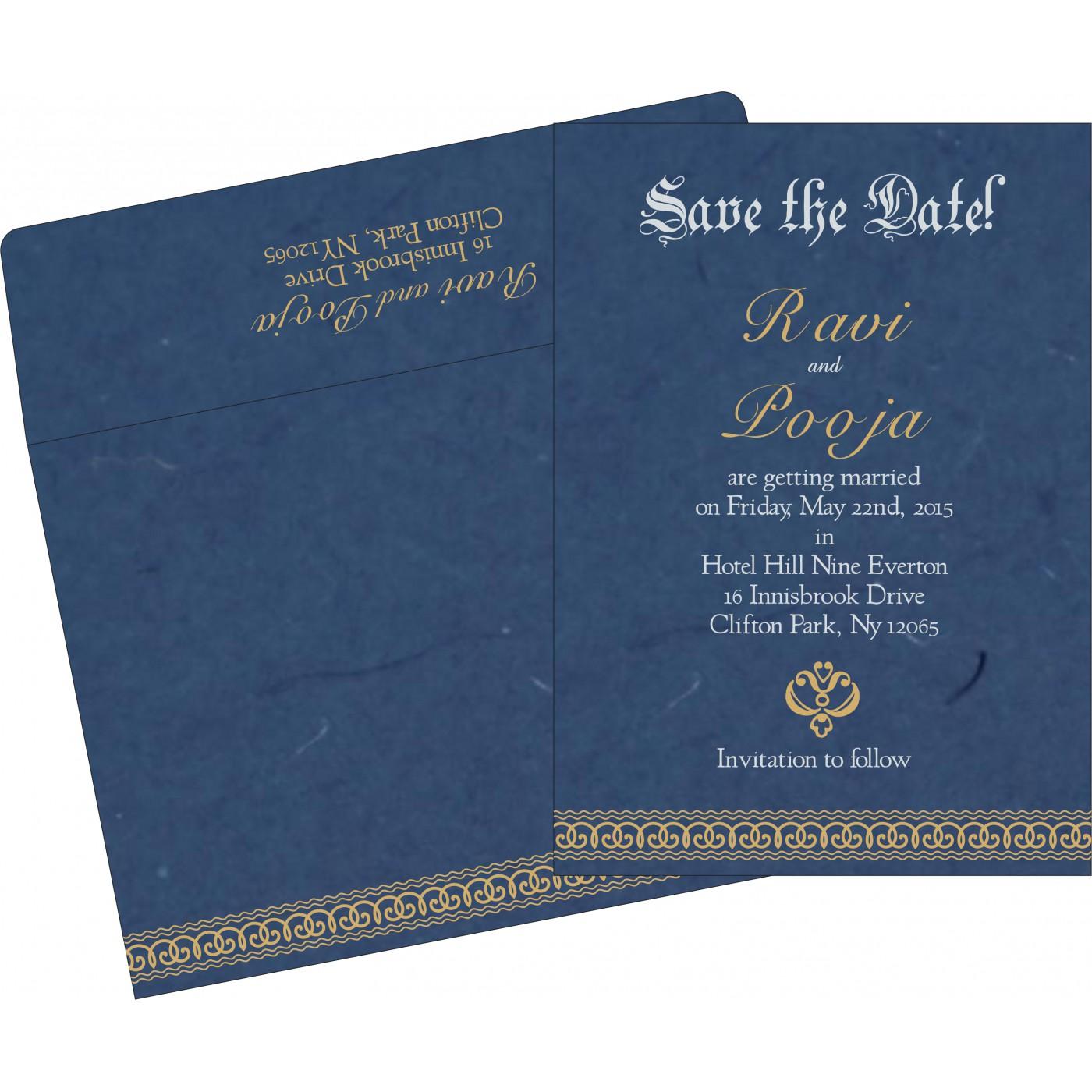 Save The Date Cards : STD-5002D - 123WeddingCards