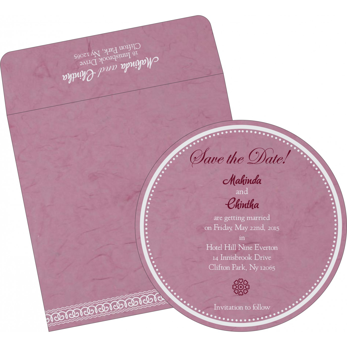 Save The Date Cards : STD-5002E - 123WeddingCards