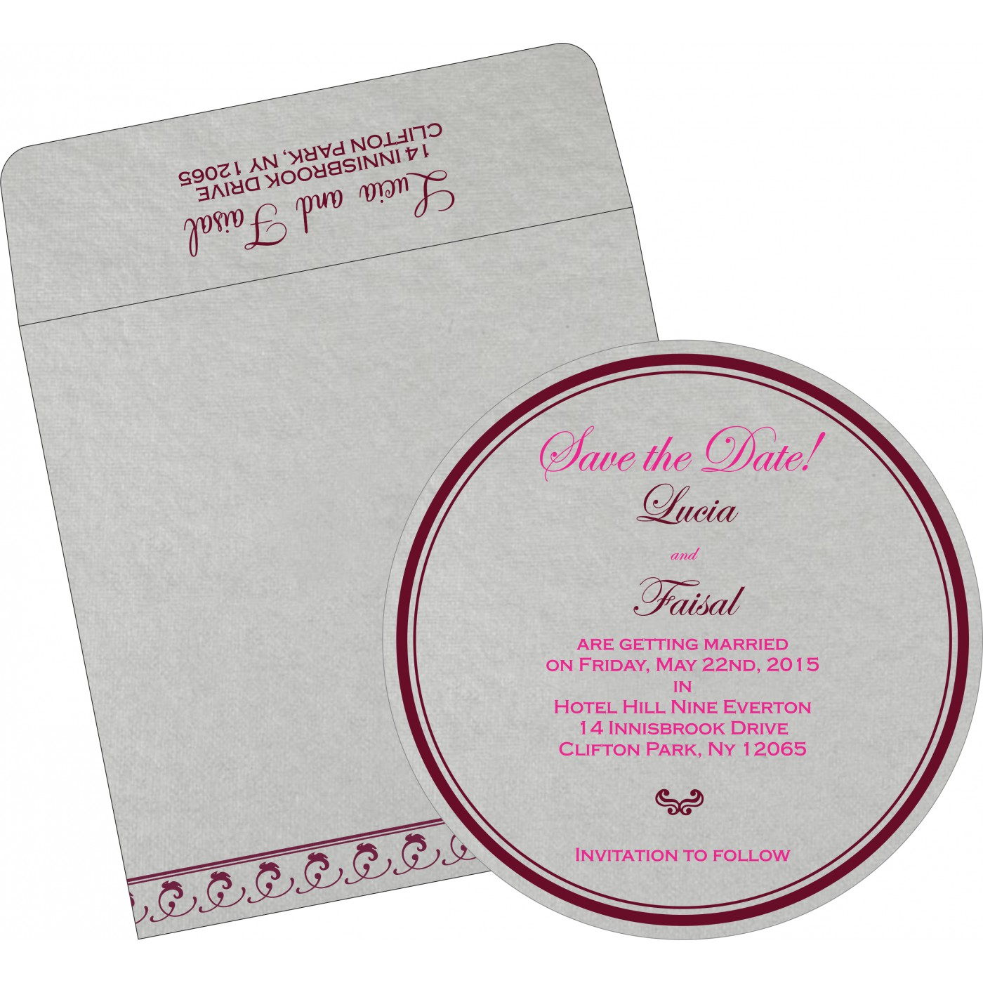 Save The Date Cards : STD-5003A - 123WeddingCards