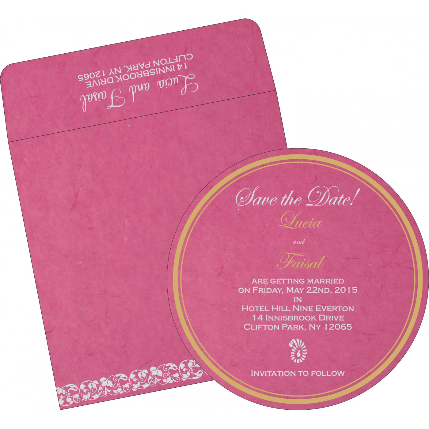 Save The Date Cards : STD-5006A - 123WeddingCards