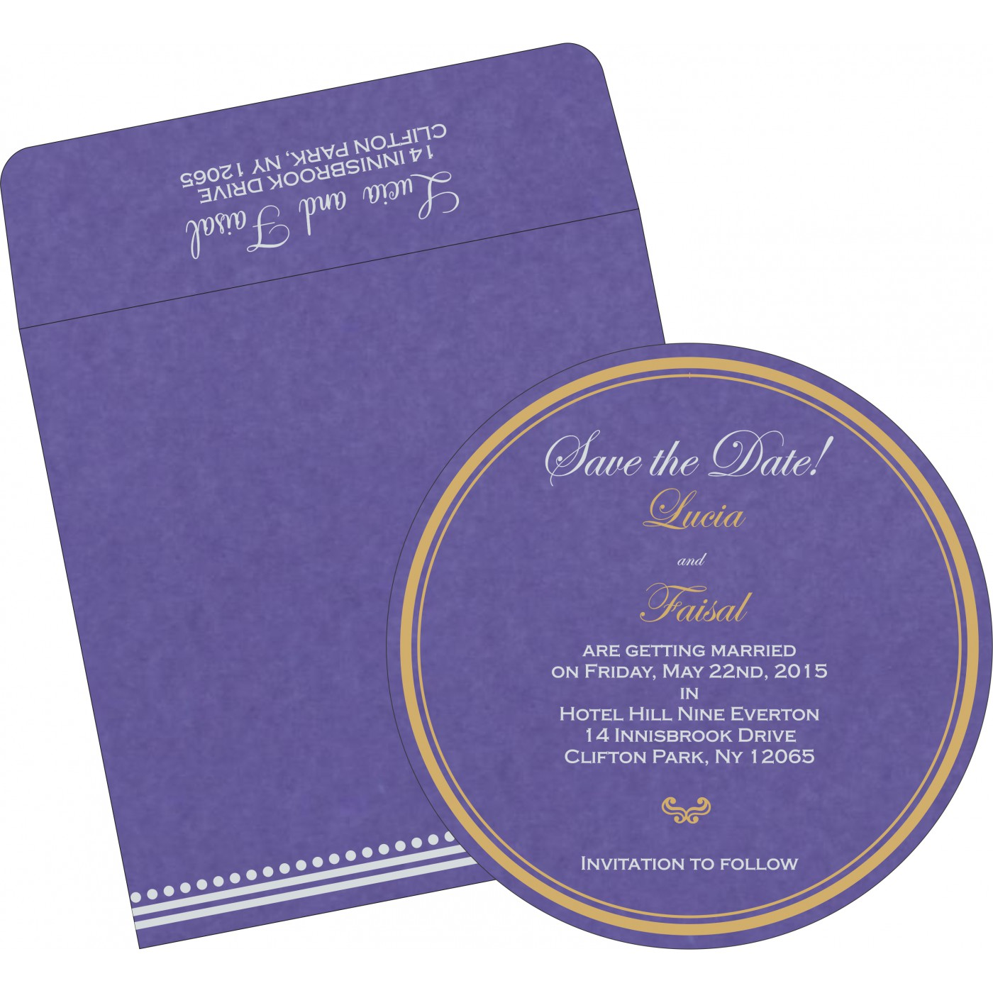 Save The Date Cards : STD-5011A - 123WeddingCards