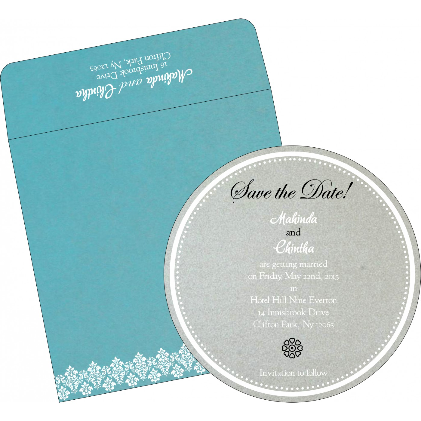 Save The Date Cards : STD-5016E - 123WeddingCards