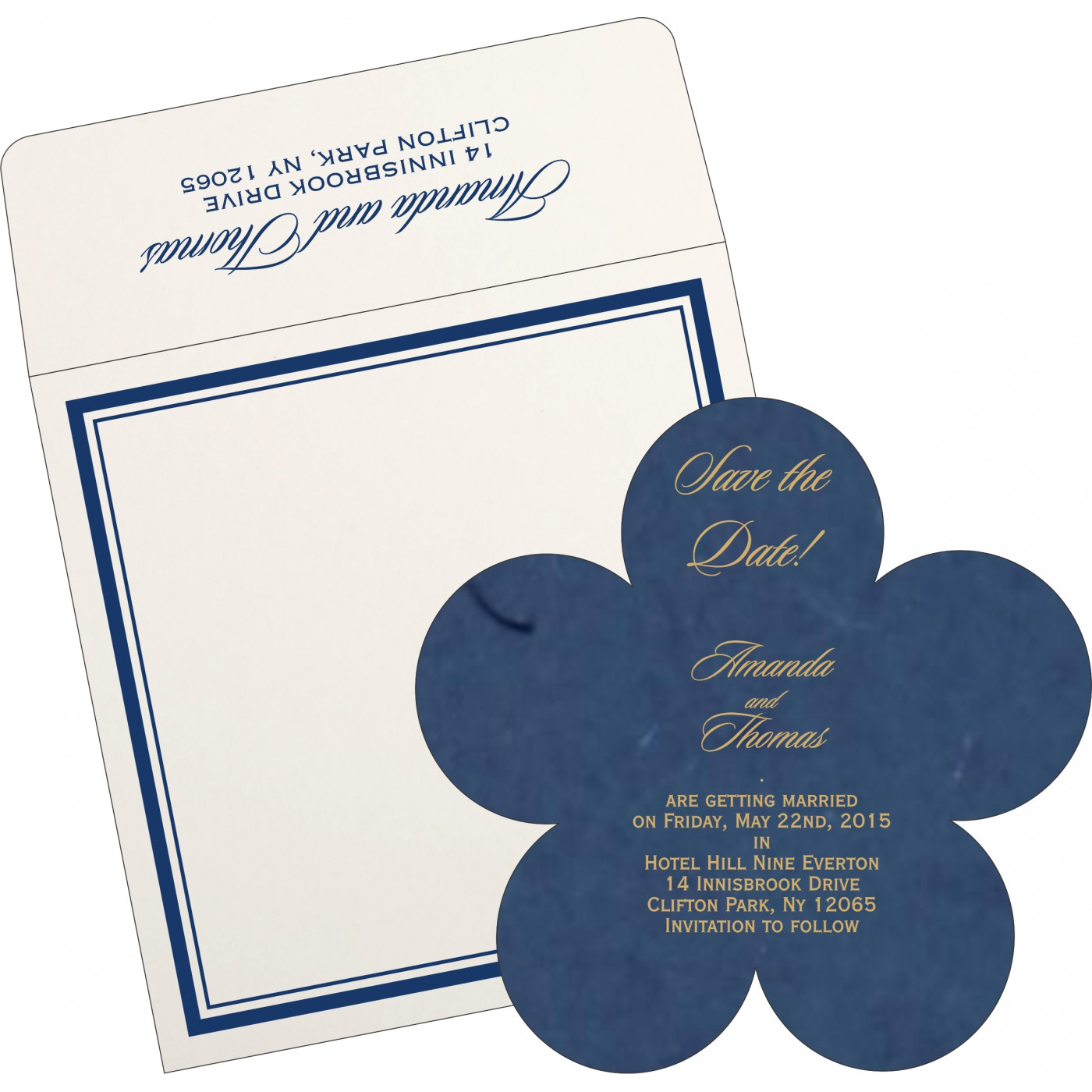 Save The Date Cards : STD-8203B - 123WeddingCards