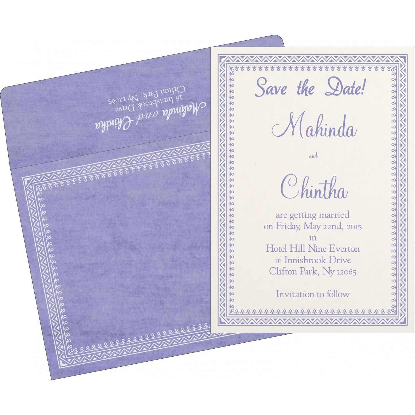 Save The Date Cards : STD-8205F - 123WeddingCards
