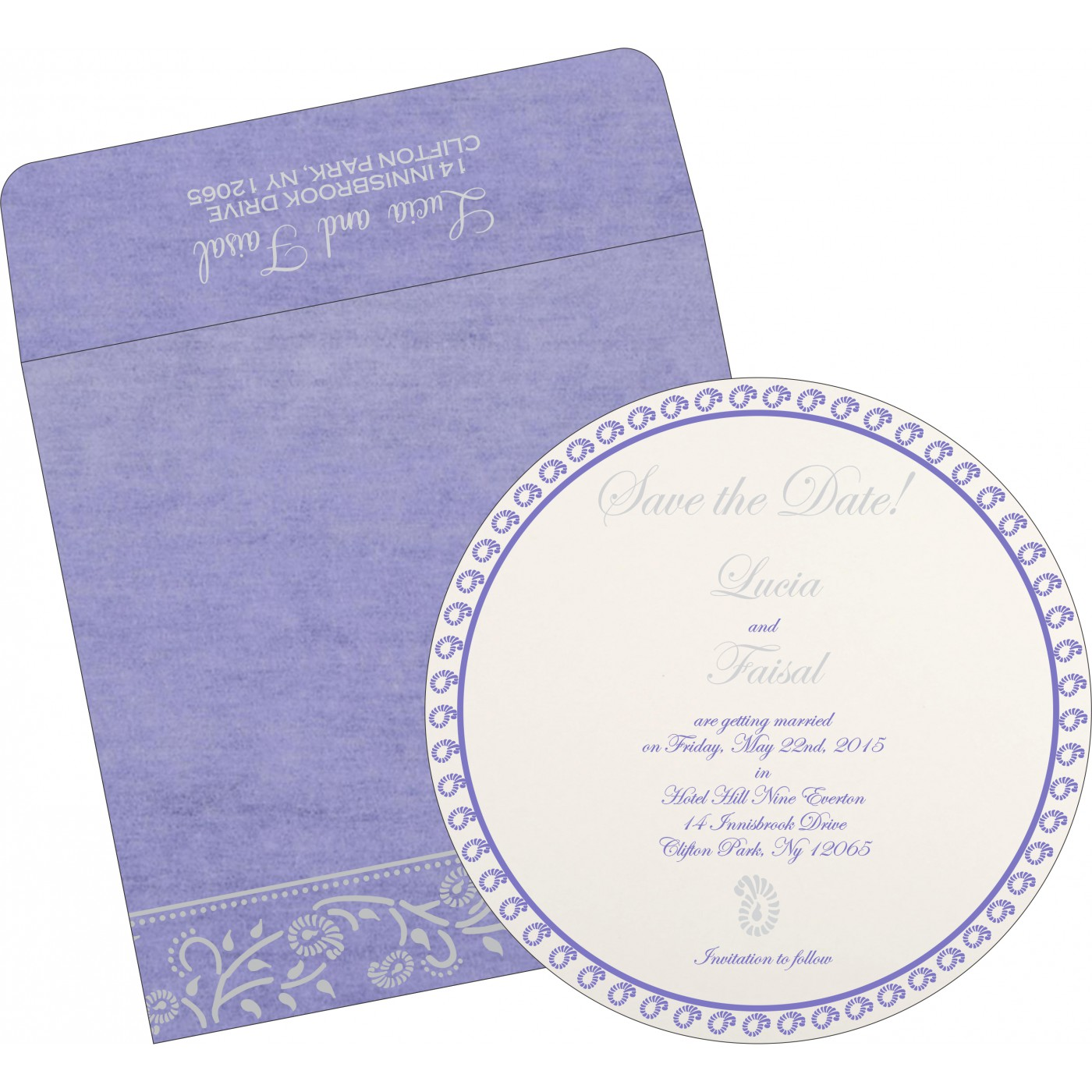 Save The Date Cards : STD-8206A - 123WeddingCards