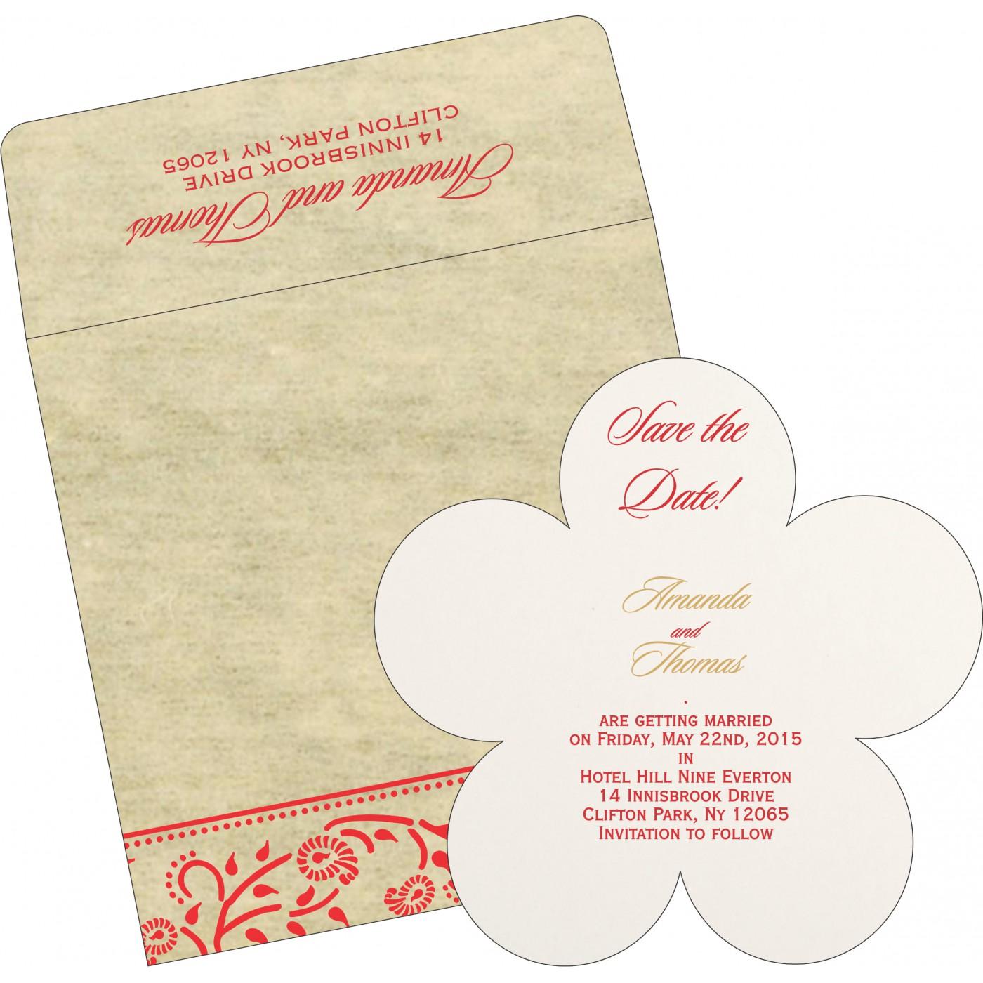 Save The Date Cards : STD-8206C - 123WeddingCards