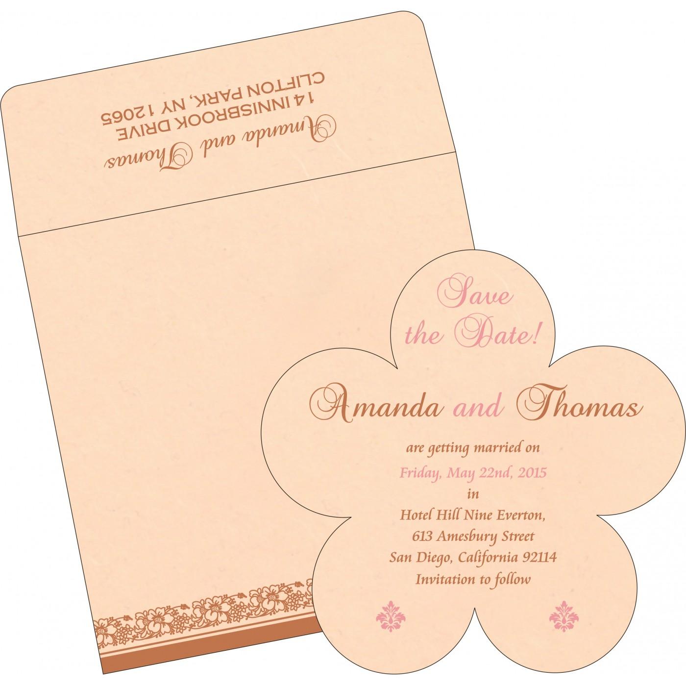 Save The Date Cards : STD-8207C - 123WeddingCards