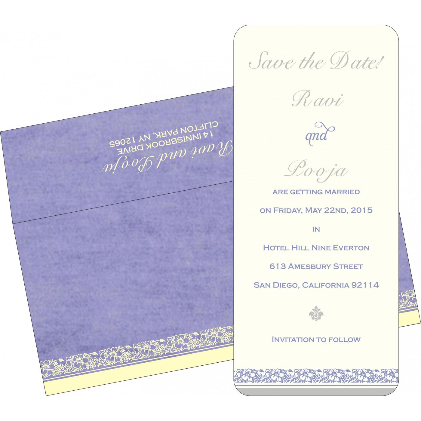 Save The Date Cards : STD-8207D - 123WeddingCards