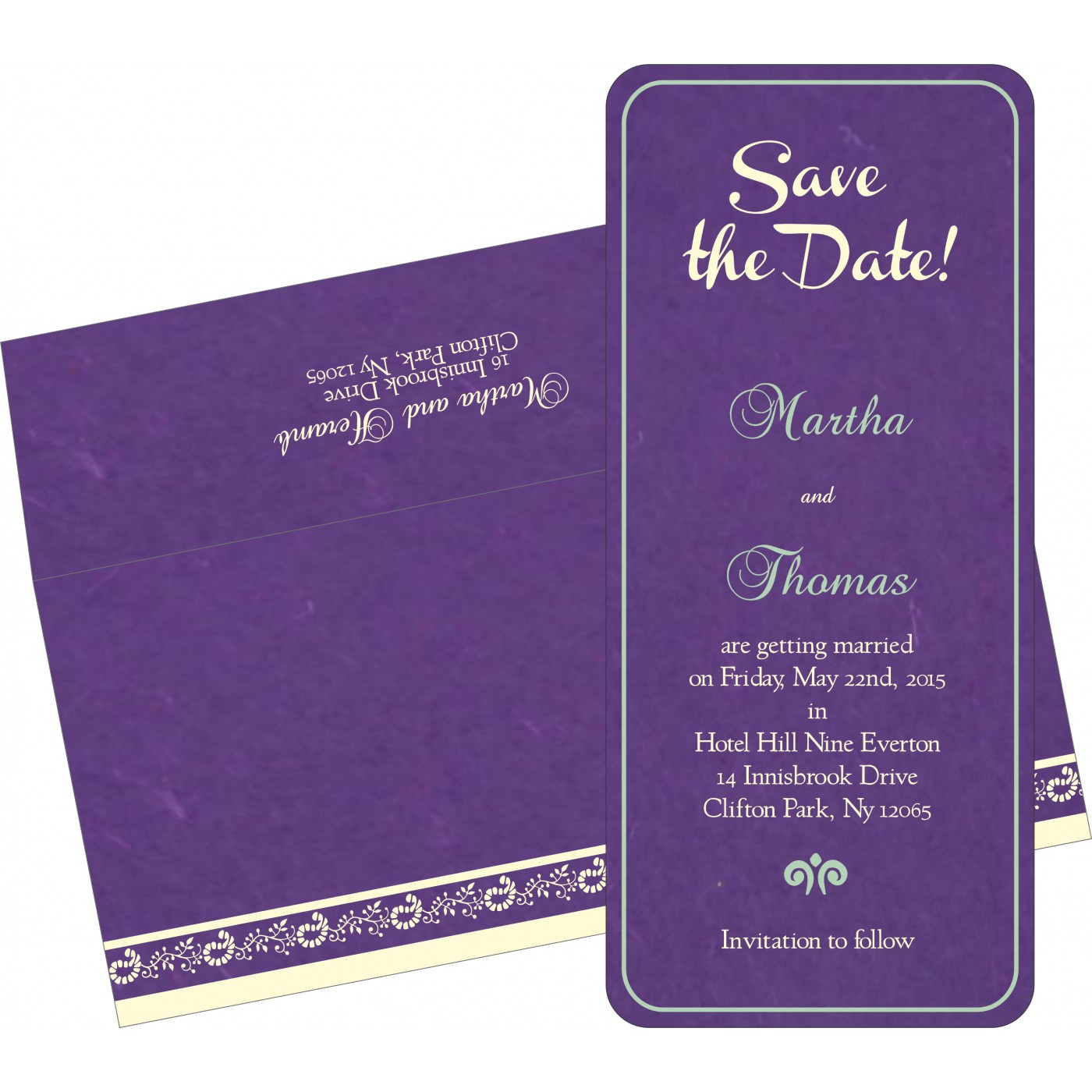 Save The Date Cards : STD-8208M - 123WeddingCards